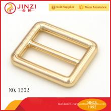 1 inch zinc alloy handbags belt slide buckle for bags