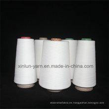 Hilado viscoso de la alta calidad del slub para la tela que hace punto el hilado 40s
