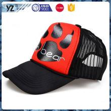 Sombrero especial del camionero del poliester del diseño de la fuente de la fábrica para la venta