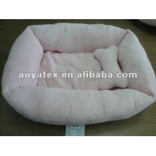 cama de perro al aire libre