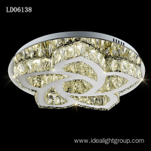 discount ceiling lamp chandelier light crystal led light