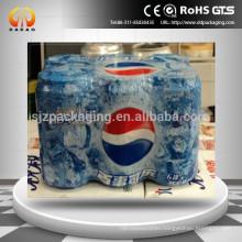 PE heat shrink sleeve for bottles beverage shrink film