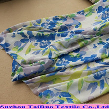 Tissu de Georgette de tissu de mousseline de soie d'impression de polyester