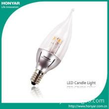 2700K E14 2.5W LED Candle Bulb 330° Beam Angle for Pendant Lights