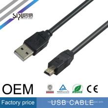 SIPU haute vitesse usb câble 2.0 gros android Charge câble meilleur prix usb caméra données câble