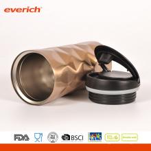 420ml doble pared 304 acero inoxidable BPA libre taza de panal