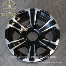 Novo tipo 12x7 atv rodas de liga leve