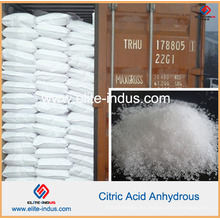 Aditivo alimenticio Ácido cítrico anhidro (CAS: 77-92-9)