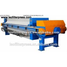 Filtro Leo Concentrado de concentrado de minería Filtro Prensa Diseño de gran capacidad