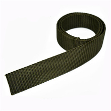 UV Resistant 1 Inch Polyester/Nylon/Cotton Webbing Belts for Military