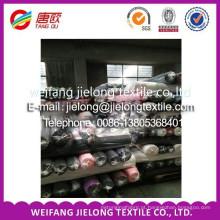 Tecido 100% algodão sarja pesada estoque sólido em weifang