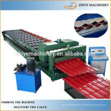 Azulejo de acero de vidrio de color que forma la máquina de alta calidad