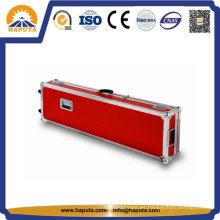 Caja de instrumentos de vuelo de guitarra de aluminio rojo (HF-6025)
