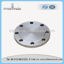 DIN dn125 pipe flange oil and gas pipe blind flange
