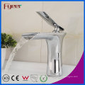 Fyeer Chrom Einhand-Wasserfall Badezimmer Original Waschbecken Becken Wasser Mischbatterie