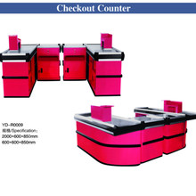 Retail Cashier Checkout Counter Stand Table