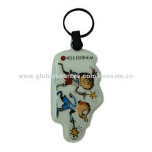 Acrylic Key-chain, Inside Inserted with Print Paper, Suitable for Promotional Purposes