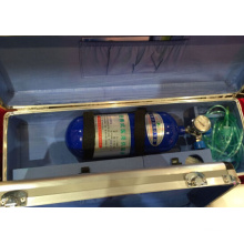 Cilindro de alumínio de alta pressão do oxigênio de 7L