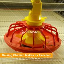 Geflügel-Landwirtschafts-Pan-Fütterungssystem der hohen Qualität für Hühnerfarm