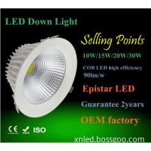 8inch 30W LED down light , led display board