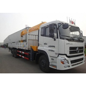 New Dongfeng hydraulic boom truck crane for sale