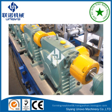 solar frame bracket steel section rollform production line