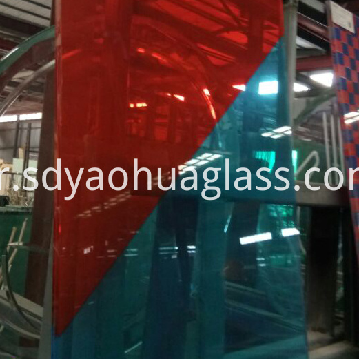 Splicing Colors Laminated Glass