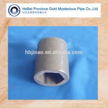 Tubo hexagonal laminado a frio tubo asiático