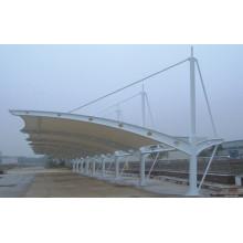 Estación de estructura de membrana para autobús / peaje / gas / ferrocarril