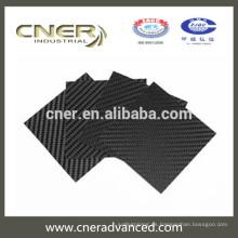 Marca de fábrica de Cner Venta directa 100% fibra de carbono Hoja de fibra de carbono 3K