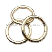 Moda de alta qualidade Metal pesado rodada anel