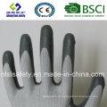 13G Polyester Shell mit Nitril beschichteten Arbeitshandschuhen (SL-N101)