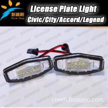 E4 canbus 18SMD LED License plate light for Honda Civic Legend Accord