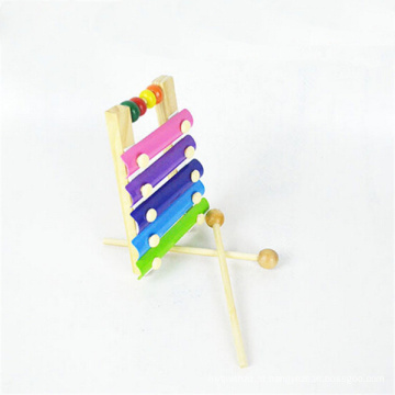 ábaco chinês xilofone de madeira instrumento música