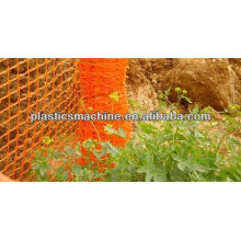 China manufacturer high efficiency automatic plastic safety fence making machine