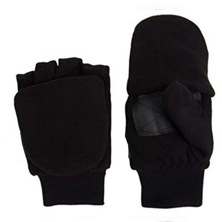 Fleece Fingerless Gloves