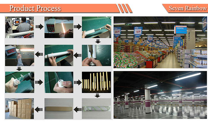 18W 2G11 tube production processing