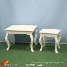 Mesa de cabeceira multifunções / mesa de café / console