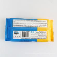 Personalizar toalhetes sem álcool de cor branca