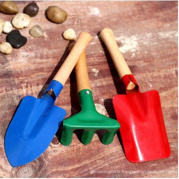 Ensemble d'outils de jardin de qualité cadeau d'outils de jardin pour enfants