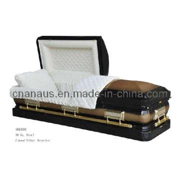 Estilo americano 18 Ga aço caixão (1854005)