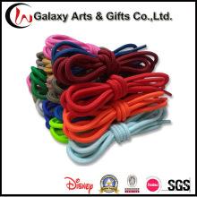 Cordón redondo antideslizante multicolor de la cuerda duradera del poliéster