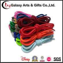 Non-Slip Multicolor Durable Polyester Rope Round Shoelace