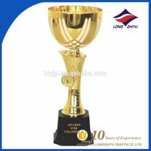 Promocionales de alta calidad de metal trofeo trofeos trofeos de deporte