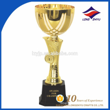 Copo de troféus de trofim de metal personalizado de alta qualidade promocional