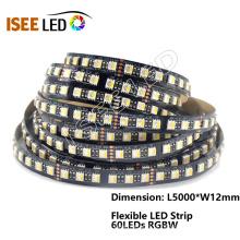 Diodo emissor de luz flexível da tira 60 do diodo emissor de luz de RGBW pelo medidor
