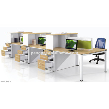 Six person simple style workstation wholesale