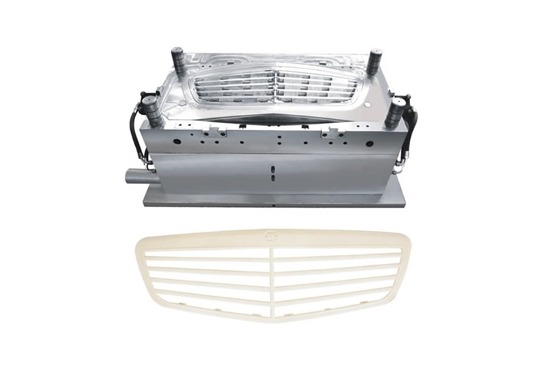 Car Grille Plastic Injection Mould 1