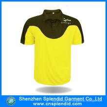 Benutzerdefinierte Sportbekleidung Mode zwei Tone Sport Polo-Shirts