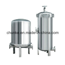 Industrial Stainless Steel Bag Type Water Filter for Water Treatment